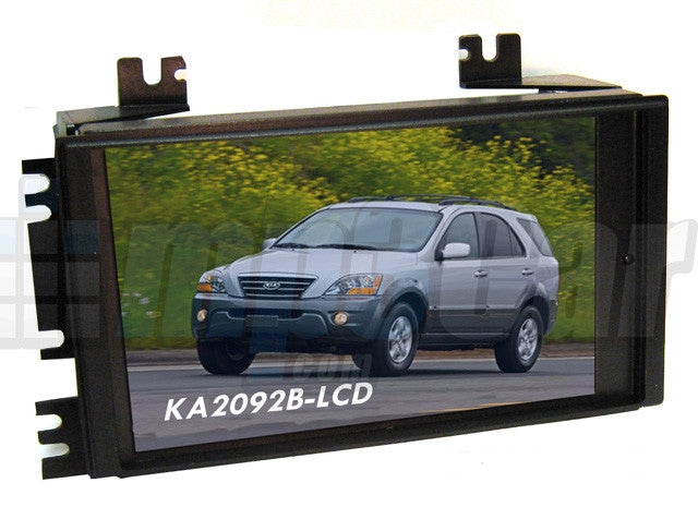 Direct Fit Double Din LCD Touch Screen for 2006-2011 Kia Rio