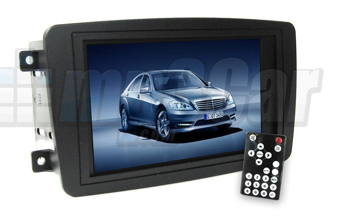 Direct Fit Double Din LCD Touch Screen for 2001-2004 Mercedes C Class/C230