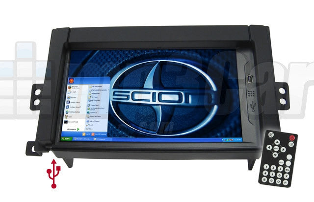 Direct Fit Double Din LCD Touch Screen for 2005-2008 Scion Tc