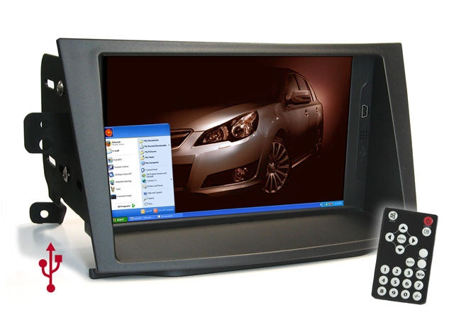 Direct Fit Double Din LCD Touch Screen for 2010 Subaru Legacy Outback W/O Nav
