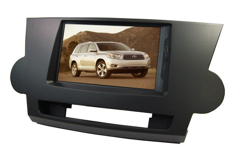 Direct Fit Double Din LCD Touch Screen for 2008-2009 Toyota Highlander