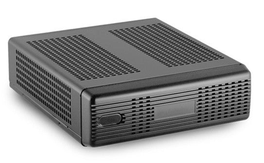 M350 Universal Mini-ITX enclosure by Mini-Box Black