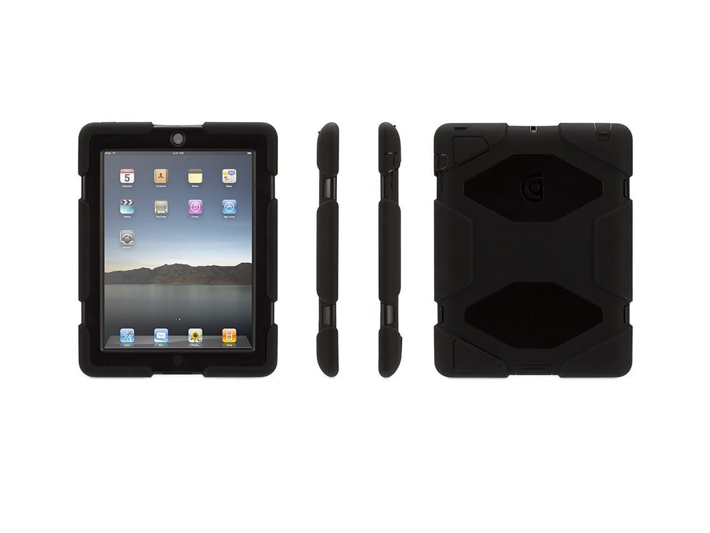 Apple IPad 2/new IPad/iPad 4 Griffin Survivor Case Black (GB35108-2)