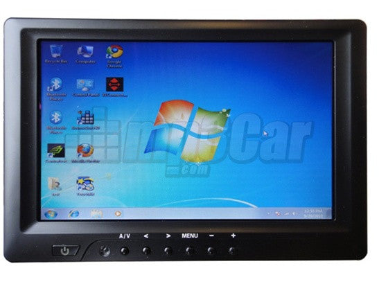 Sunlight Readable 7'' Touchscreen Monitor Lilliput 669GL-70NP/C/T