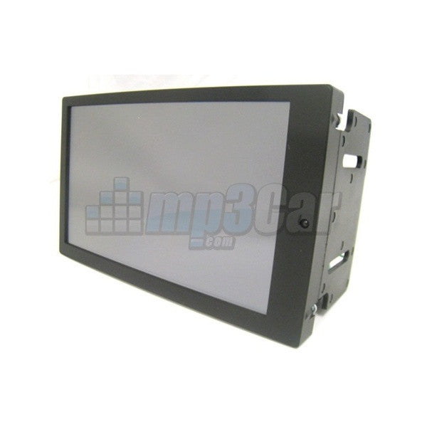 "Preassembled Black Double Din LCD Frame with 7"" Lilliput EBY701"