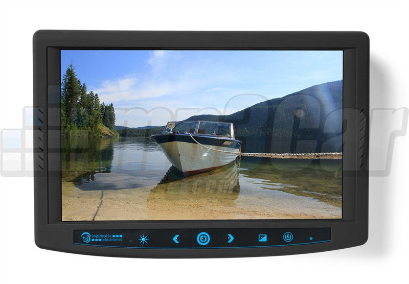 "Sunlight Readable Industrial Grade 7"" VGA Touch Screen Monitor Inelmatic"