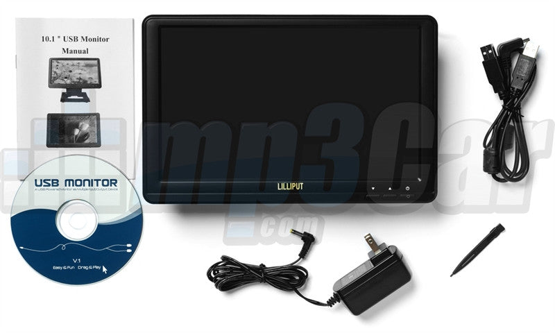"LILLIPUT UM1010T 10.1"" 16:9 LCD Monitor Touch Screen Monitor Mini USB"