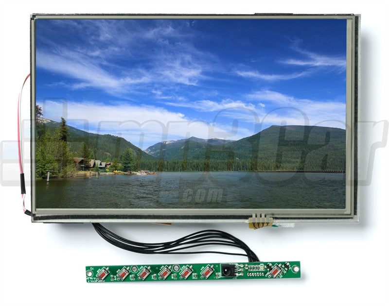 "Lilliput 669GL-NP/C/T Open Frame SKD 7"" Touch Screen Monitor HDMI, DVI, VGA"