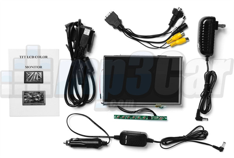 "Lilliput 7"" SKD Open Frame Touch Screen VGA Monitor with HDMI, DVI Input"