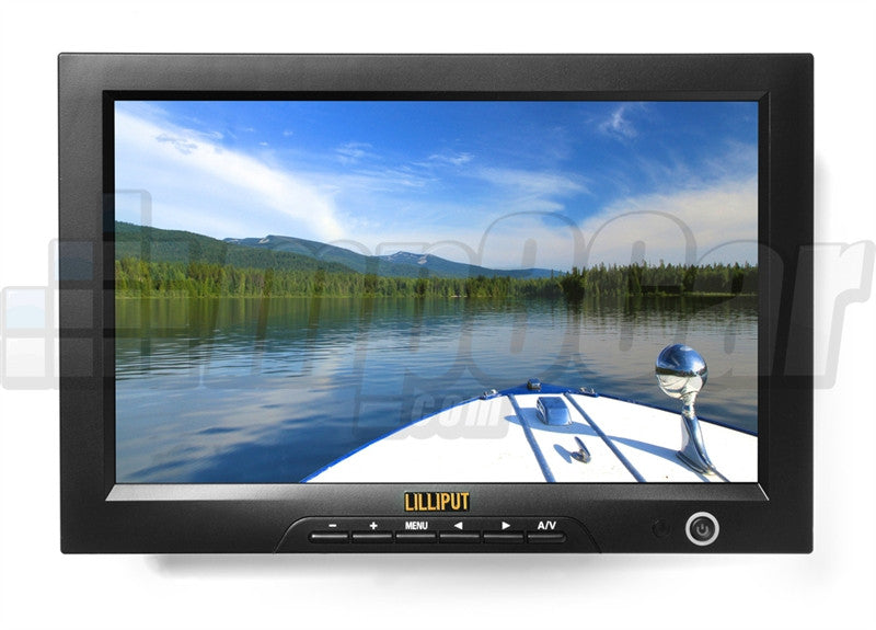 "Lilliput 10.1"" Fa1013-np/h/y 16:9 Hdmi Field Monitor By Viviteq"