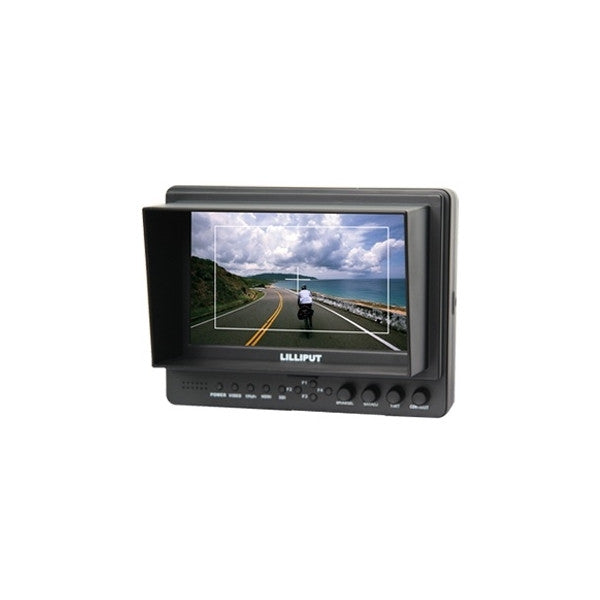"Lilliput 665gl-70np/ho/y 7"" On-camera Hd LCD Field Monitor HDMI Component"