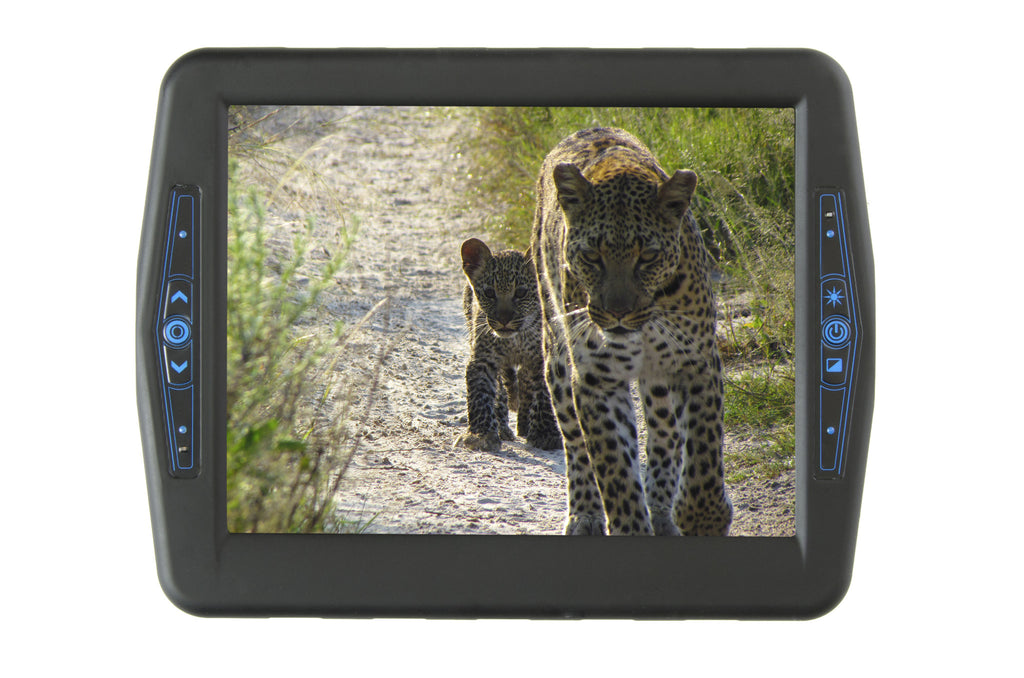 "Inelmatic Industrial Grade Waterproof Sunlight Readable 8"" Touch Screen Monitor"