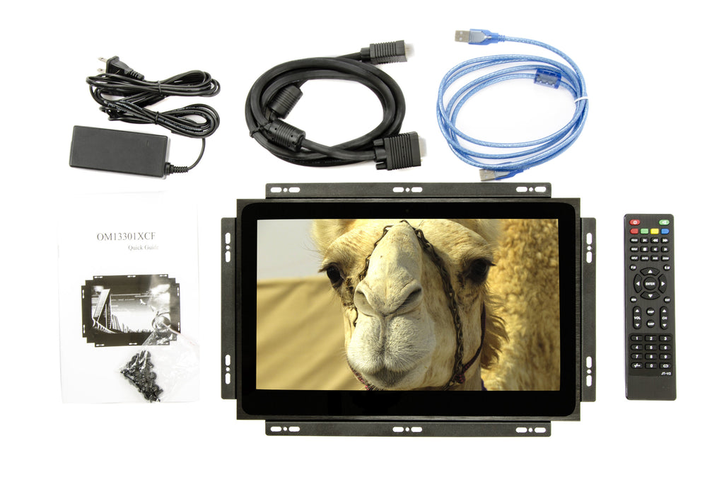 "CarNetix 13.3"" SKD Capacative HDMI Multi Touch Screen Monitor"