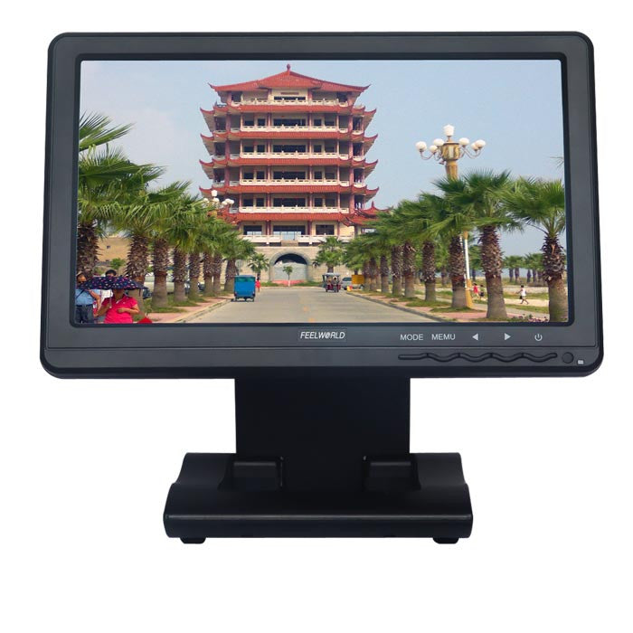 "Feelworld FW101AHT 10.1"" LCD Touch monitor with VGA,HDMI,YPbPr"
