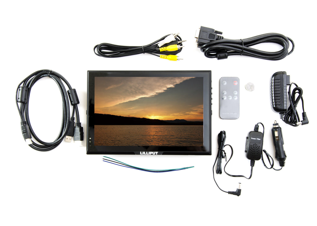 "LILLIPUT FA1014-NP/C/T IPS 16:9 10.1"" HDMI Capacitive Multi Touch Monitor"