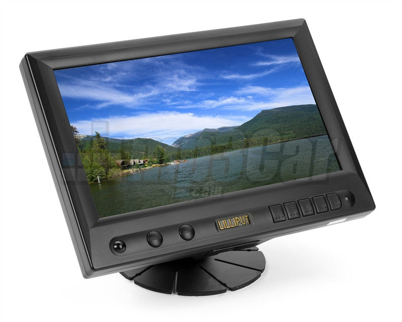 "Lilliput 8"" CAR Pc Touch Screen TFT LCD VGA Monitor (Black)"