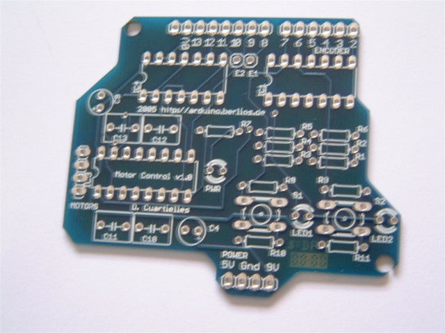 Arduino Motor Shield PCB