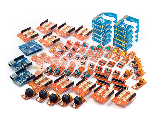 Arduino K000005 Development Kit with Uno & 150 Piece TinkerKit Sensor Set