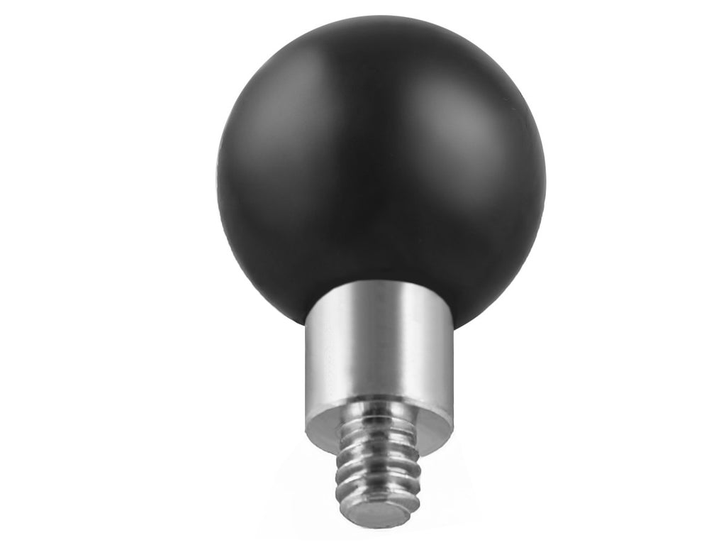 Ram Mount 1-Inch Ball with 1/4-Inch 20 Male Threaded Post for Cameras