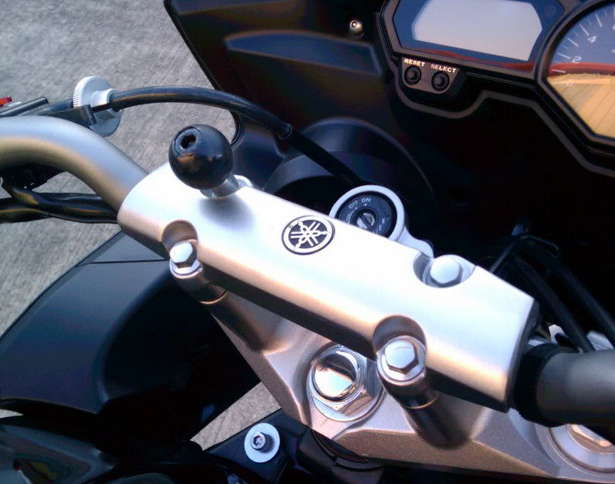 RAM Motorcycle Handlebar Clamp Base with M8 Screws