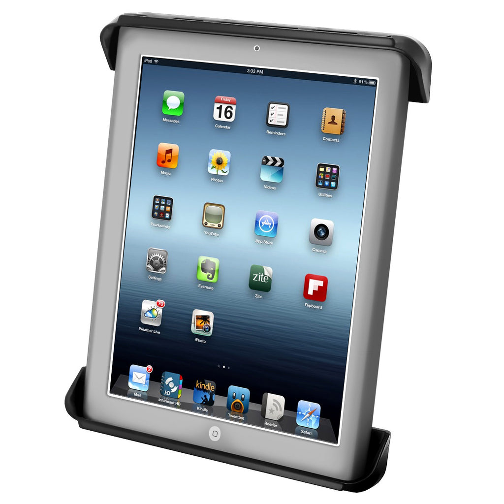 RAM Tab-Tite™ Cradle for the Apple iPad 1-4 WITH OR WITHOUT LIGHT DUTY CASE