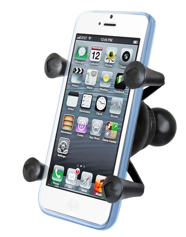 RAM Mount Universal X-Grip Cell Phone Holder with 1-Inch Ball