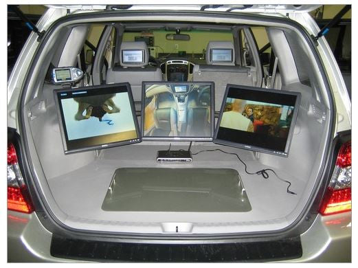 Custom car computer installation. Our shop or yours!