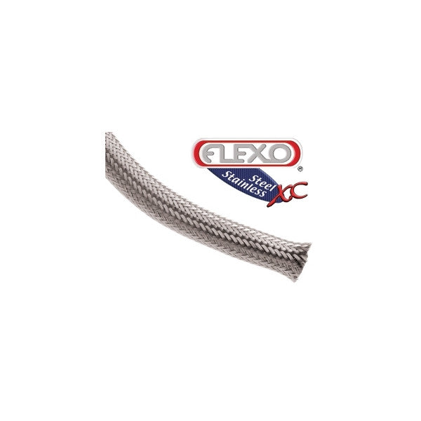 TechFlex Stainless XC 0.5 inch sleeving 25ft