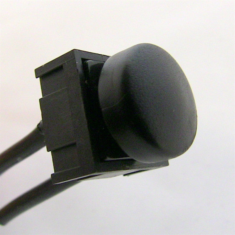 Black Momentary Pushbutton Switch 12.5mm