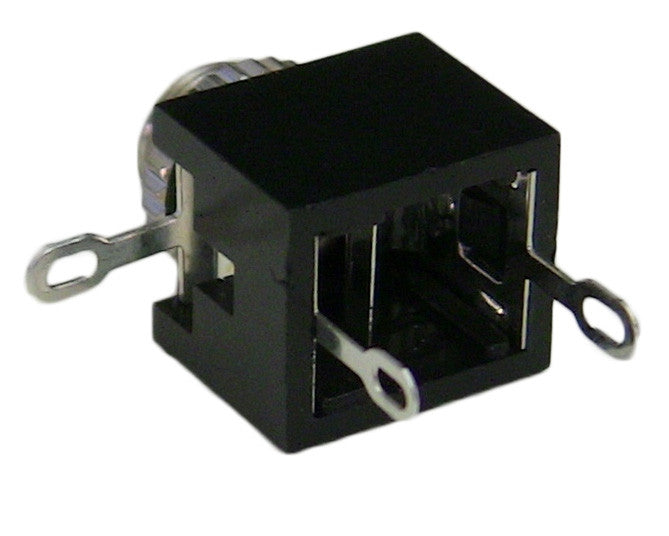 "3 Conductor 3.5mm (1/8"") Computer Case Mountable Socket"