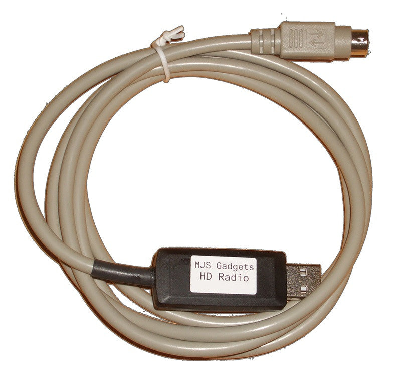 MJS HD Radio USB PC Interface Cable