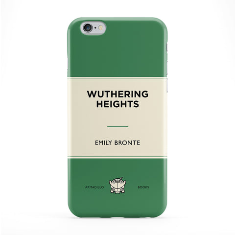 Wuthering Heights by Emily Bronte Full Wrap Protective Phone Case by Armadillo Books