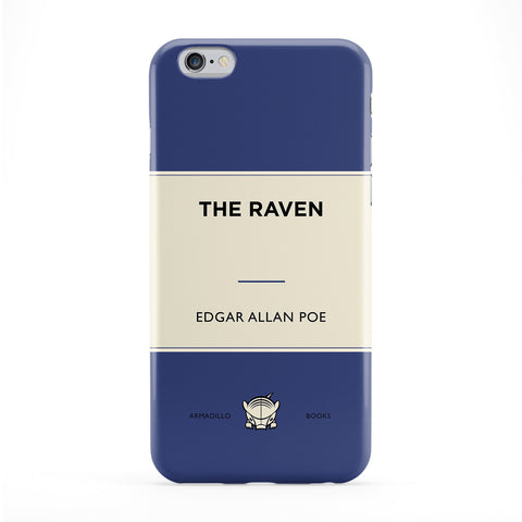 The Raven by Edgar Allan Poe Full Wrap Protective Phone Case by Armadillo Books