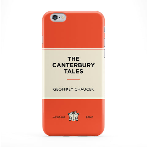 The Canterbury Tales by Geoffrey Chaucer Full Wrap Protective Phone Case by Armadillo Books