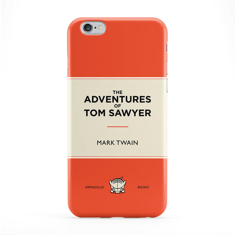 The Adventures of Tom Sawyer by Mark Twain Full Wrap Protective Phone Case by Armadillo Books