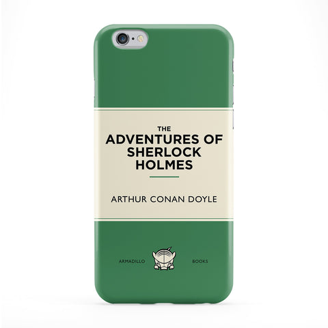 The Adventures of Sherlock Holmes by Arthur Conan Doyle Full Wrap Protective Phone Case by Armadillo Books
