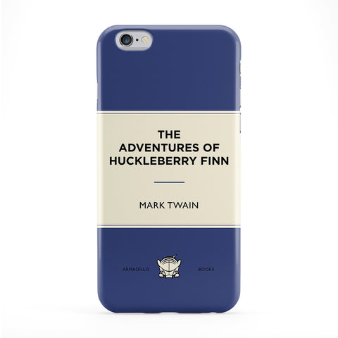 The Adventures of Huckleberry Finn by Mark Twain Full Wrap Protective Phone Case by Armadillo Books
