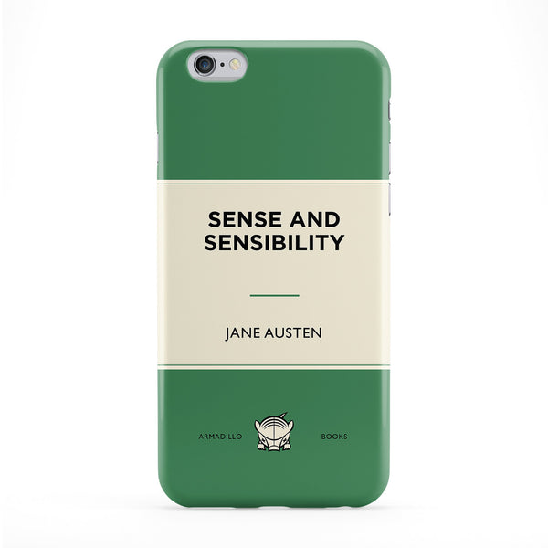 Sense and Sensibility by Jane Austen Phone Case by Armadillo Books