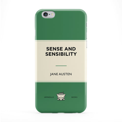 Sense and Sensibility by Jane Austen Full Wrap Protective Phone Case by Armadillo Books
