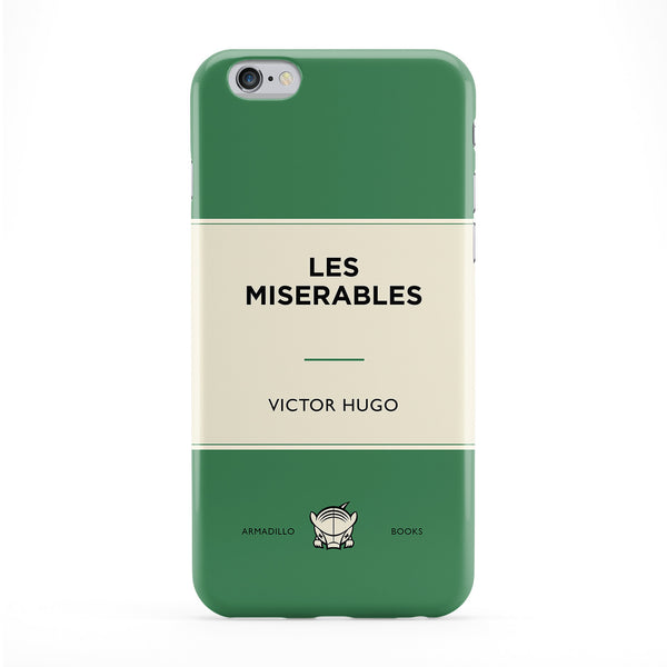 Les Miserables by Victor Hugo Phone Case by Armadillo Books