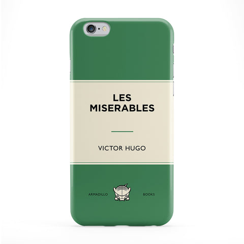 Les Miserables by Victor Hugo Full Wrap Protective Phone Case by Armadillo Books