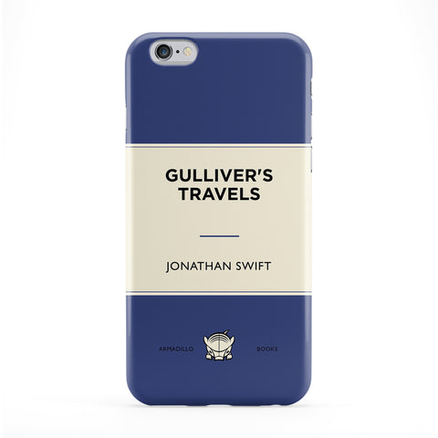 Gulliver's Travels by Jonathan Swift Full Wrap Protective Phone Case by Armadillo Books