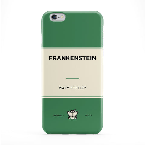 Frankenstein by Mary Shelley Full Wrap Protective Phone Case by Armadillo Books