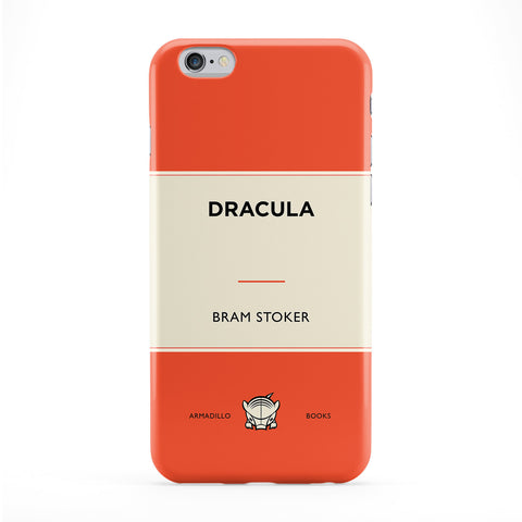 Dracula by Bram Stoker Full Wrap Protective Phone Case by Armadillo Books