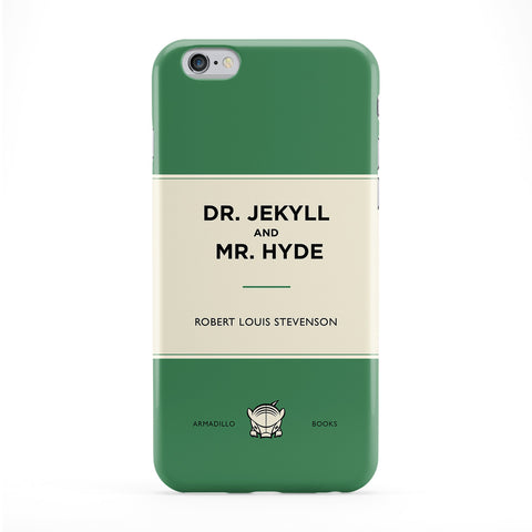 Dr Jekyll and Mr Hyde by Robert Louis Stevenson Full Wrap Protective Phone Case by Armadillo Books