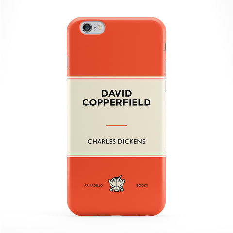 David Copperfield by Charles Dickens Full Wrap Protective Phone Case by Armadillo Books