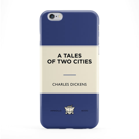 A Tales of Two Cities by Charles Dickens Full Wrap Protective Phone Case by Armadillo Books