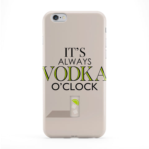 Vodka O'clock Phone Case by BJE Art