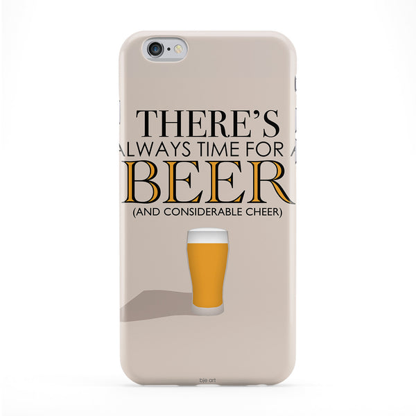 Time For Beer Phone Case by BJE Art