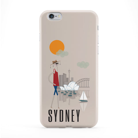 Sydney Phone Case by BJE Art